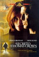 The Thomas Crown Affair - Spanish Movie Cover (xs thumbnail)