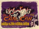 Can-Can - British Movie Poster (xs thumbnail)