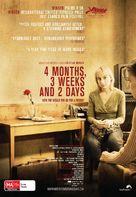 4 luni, 3 saptamini si 2 zile - Australian Movie Poster (xs thumbnail)