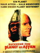Beneath the Planet of the Apes - German Movie Poster (xs thumbnail)