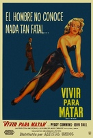 Deadly Is the Female - Argentinian Movie Poster (xs thumbnail)