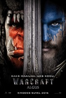 Warcraft - Estonian Movie Poster (xs thumbnail)