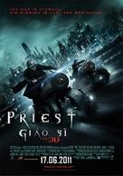 Priest - Vietnamese Movie Poster (xs thumbnail)
