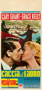 To Catch a Thief - Italian Movie Poster (xs thumbnail)