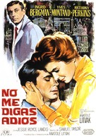 Goodbye Again - Spanish Movie Poster (xs thumbnail)