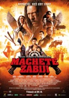 Machete Kills - Czech Movie Poster (xs thumbnail)