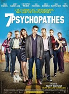 Seven Psychopaths - French Movie Poster (xs thumbnail)