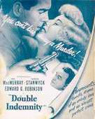 Double Indemnity - poster (xs thumbnail)