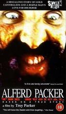 Alferd Packer: The Musical - British VHS movie cover (xs thumbnail)
