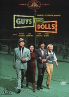 Guys and Dolls - Australian DVD movie cover (xs thumbnail)