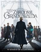 Fantastic Beasts: The Crimes of Grindelwald - Polish Movie Poster (xs thumbnail)