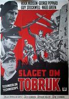 Tobruk - Swedish Movie Poster (xs thumbnail)