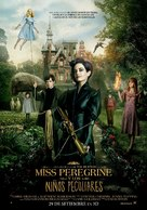 Miss Peregrine's Home for Peculiar Children - Peruvian Movie Poster (xs thumbnail)