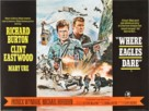 Where Eagles Dare - British Movie Poster (xs thumbnail)
