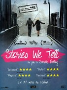 Stories We Tell - French Movie Poster (xs thumbnail)