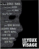 Les yeux sans visage - French Movie Poster (xs thumbnail)