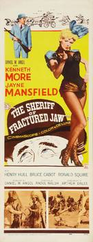 The Sheriff of Fractured Jaw - Movie Poster (xs thumbnail)