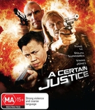 A Certain Justice - Australian Blu-Ray movie cover (xs thumbnail)