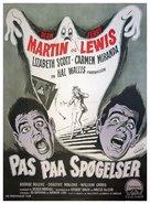 Scared Stiff - Danish Movie Poster (xs thumbnail)