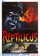 Reptilicus - Italian Movie Poster (xs thumbnail)