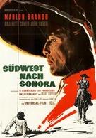 The Appaloosa - German Movie Poster (xs thumbnail)