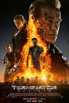 Terminator Genisys - Icelandic Movie Poster (xs thumbnail)