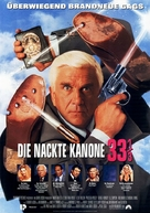Naked Gun 33 1/3: The Final Insult - German Movie Poster (xs thumbnail)