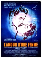 L'amour d'une femme - French Movie Poster (xs thumbnail)