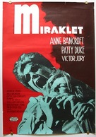 The Miracle Worker - Swedish Movie Poster (xs thumbnail)
