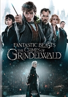 Fantastic Beasts: The Crimes of Grindelwald - DVD movie cover (xs thumbnail)