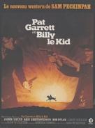 Pat Garrett & Billy the Kid - French Movie Poster (xs thumbnail)