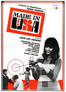 Made in U.S.A. - Spanish Movie Poster (xs thumbnail)