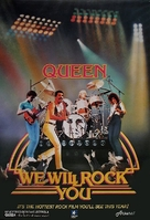 We Will Rock You: Queen Live in Concert - German Movie Poster (xs thumbnail)