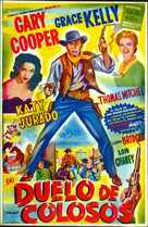 High Noon - Mexican Movie Poster (xs thumbnail)