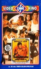 Meng long guo jiang - German VHS cover (xs thumbnail)