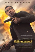 The Equalizer 2 - Dutch Movie Poster (xs thumbnail)