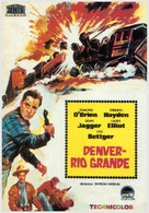 Denver and Rio Grande - Spanish Movie Poster (xs thumbnail)