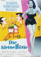 The Little Hut - German Movie Poster (xs thumbnail)
