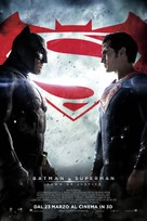 Batman v Superman: Dawn of Justice - Swiss Movie Poster (xs thumbnail)