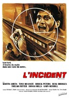 The Incident - French Movie Poster (xs thumbnail)