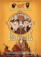 Les triplettes de Belleville - Spanish Movie Poster (xs thumbnail)