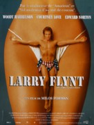 The People Vs Larry Flynt - French Movie Poster (xs thumbnail)