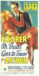 Mr. Deeds Goes to Town - Theatrical movie poster (xs thumbnail)