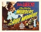 Murders in the Rue Morgue - Re-release poster (xs thumbnail)