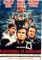 The Guns of Navarone - Swedish Movie Poster (xs thumbnail)