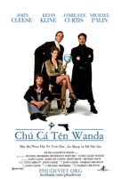 A Fish Called Wanda - Vietnamese Movie Poster (xs thumbnail)