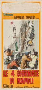 Le quattro giornate di Napoli - Italian Movie Poster (xs thumbnail)