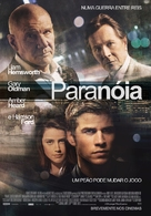 Paranoia - Portuguese Movie Poster (xs thumbnail)