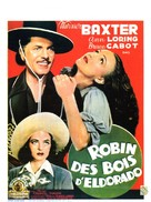 The Robin Hood of El Dorado - Belgian Movie Poster (xs thumbnail)