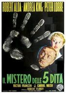 The Beast with Five Fingers - Italian Movie Poster (xs thumbnail)
